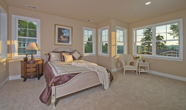 sample bedroom for homes in Georgetown
