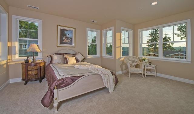 sample bedroom for homes in Georgetown