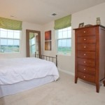 new townhome bedroom by lennar