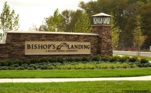 Bishops Landing Entrance
